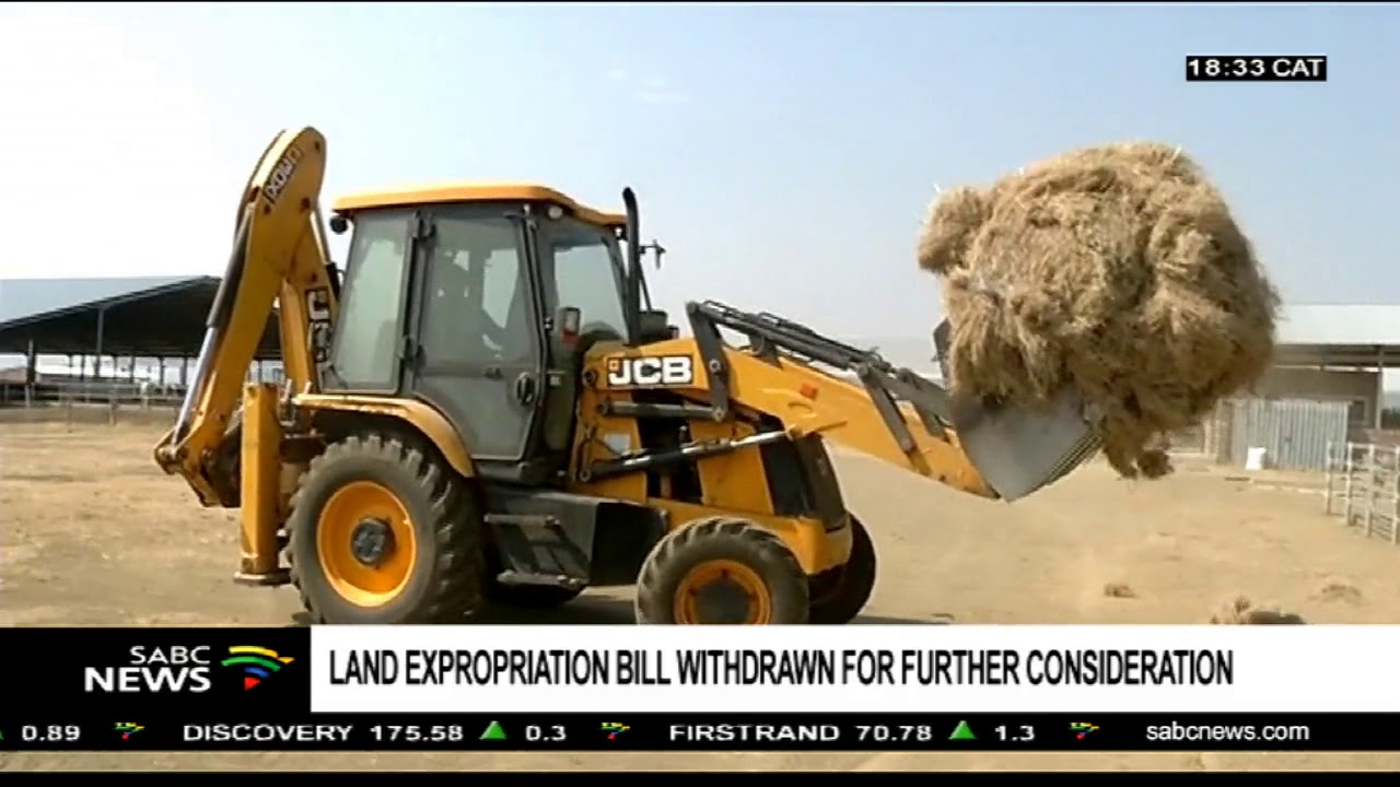 Withdrawal of the Land Expropriation Bill: Nonceba Mhlauli